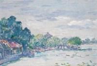 1962年作 北海公园 - 140808 - 油画 水彩画 - 2007年春季艺术品拍卖会 -收藏网