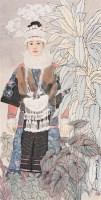 刘泉义    花丛中之三 - 刘泉义 - 中国书画 - 2007春季中国书画名家精品拍卖会 -收藏网