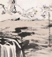 对弈图 镜心 设色纸本 - 106731 - 当代水墨专场(四) - 2011秋季艺术品拍卖会 -收藏网