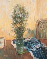 静物 布面油彩 - 127356 - 中国油画(二) - 2006年中国艺术品春季拍卖会 -收藏网