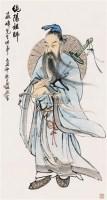 纯阳师祖 立轴 设色纸本 - 高峻 - 海上旧梦(四) - 2010年春季艺术品拍卖会 -中国收藏网