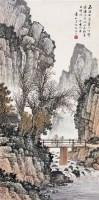 清音 立轴 设色纸本 - 134104 - 中国书画 - 第55期中国艺术精品拍卖会 -收藏网