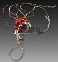 珊瑚钻石项链 -  - 古董珍玩 - 2011春季艺术品拍卖会 -收藏网