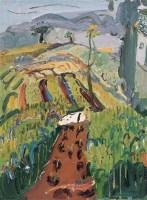 早春 布面油彩 - 140643 - 中国油画(二) - 2006年中国艺术品春季拍卖会 -收藏网