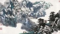 天山初春 镜片 设色纸本 - 4422 - 中国书画(一) - 2011春季艺术品拍卖会 -收藏网