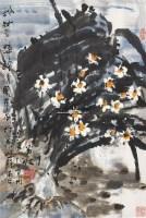 粉妆争辉 镜心 设色纸本 - 王乃壮 - 中国书画 - 2006秋季艺术精品拍卖会 -收藏网