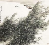山水 镜心 设色纸本 - 129692 - 中国书画(一)—齐鲁集萃 - 2011春季艺术品拍卖会 -收藏网