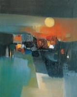 仲夏之夜 布面油彩 - 158378 - 中国油画(二) - 2006年中国艺术品春季拍卖会 -收藏网