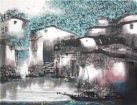 邵晨 皖秋图 - 105374 - 中国书画 - 浙江方圆2010秋季书画拍卖会 -收藏网