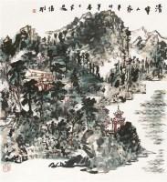 清华人家 镜片 -  - 中国书画 - 2011年首屇艺术品拍卖会 -收藏网