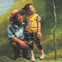 小树 布面油画 -  - 油画之光—油画专场 - 北京康泰首届艺术品拍卖会 -收藏网