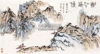 秋江归渔 镜心 纸本 - 4475 - 中国书画 - 2011年秋艺术精品拍卖会 -收藏网