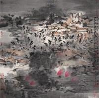 唐人诗意 田园果蔬系列 镜心 设色纸本 - 5919 - 中国当代书画 - 2009春季拍卖会 -收藏网