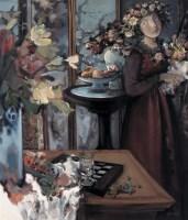夏俊娜 2002年 青春舞曲 布面 油画 - 夏俊娜 - 中国油画及雕塑 - 2006秋季拍卖会 -收藏网