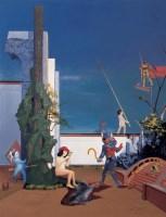 告诉我,我们该怎么游戏 布面 油画 - 岂梦光 - 中国当代艺术 - 2006秋季拍卖会 -收藏网