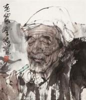 老农 镜片 水墨纸本 - 117911 - 书画 - 2011年拍卖会 -收藏网