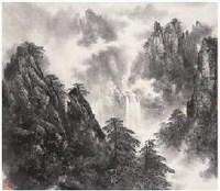 孙日晓 山水 立轴 - 孙日晓 - 中国书画 - 2007年金秋拍卖会 -收藏网