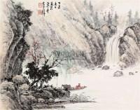 山水 镜片 纸本 - 122935 - 文物商店友情提供 - 庆二周年秋季拍卖会 -收藏网