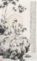 竹下观音像 立轴 设色纸本 -  - 中国书画 - 2006秋季拍卖会 -收藏网