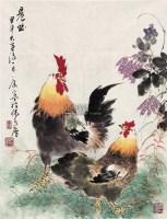 晨曲 镜心 设色纸本 - 康宁 - 中国书画(二) - 2009春季大型艺术品拍卖会 -收藏网