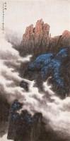 魏紫熙 1959年作 神女峰 立轴 纸本设色 - 魏紫熙 - 中国书画 - 2006年秋(十周年)拍卖会 -收藏网