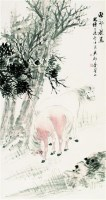 秋郊牧马图 - 118901 - 中国书画 - 2007秋季艺术品拍卖会 -收藏网