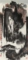 山水 镜片 纸本 - 119027 - 中国书画 - 2011年春季拍卖会 -收藏网