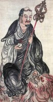 佚名 罗汉 -  - 中国书画(一)(二) - 华伦伟业 08迎新春书画拍卖会 -收藏网