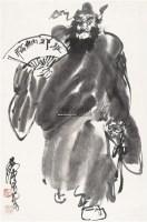 驱邪纳福 镜心 水墨纸本 - 7693 - 中国书画(二) - 2011春季艺术品拍卖会 -中国收藏网