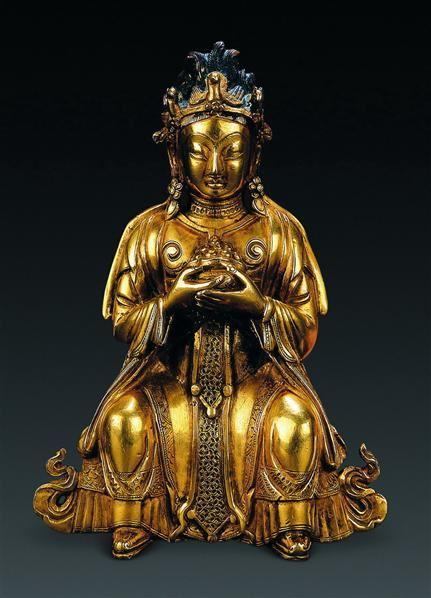 清中期(18世纪) 财宝天女 -  - 古董珍玩专场 - 2008年迎春艺术品拍卖会 -收藏网