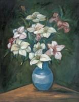 静物 布面  油画 - 关紫兰 - 中国油画雕塑 - 2007春季艺术品拍卖会 -收藏网