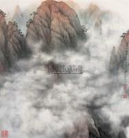 山水 镜心 设色纸本 - 16123 - 中国书画 - 2005首届书画拍卖会 -收藏网