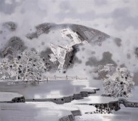 天池 布面 油彩 - 翁凯旋 - 中国油画及雕塑 - 2008秋季拍卖会 -收藏网