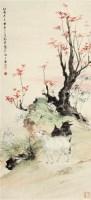 三羊开泰 立轴 设色纸本 - 122234 - 中国书画 - 2011年夏季艺术品拍卖会 -中国收藏网