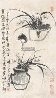 兰花 立轴 纸本 - 李方膺 - 中国书画 - 2011年春季拍卖会 -收藏网