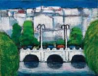白城 油彩 画布 -  - 现代与当代艺术 - 2011台北秋季拍卖会 -中国收藏网