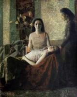 平心静气 布面油画 - 154983 - 中国西画及漆画 - 2007秋季拍卖会 -收藏网