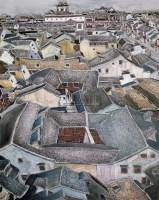 城隍天下 布面油彩 - 141282 - 中国油画(二) - 2006年中国艺术品春季拍卖会 -收藏网