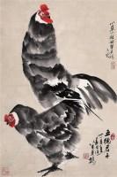 五德君子 镜心 设色纸本 - 米景扬 - 中国近现代及当代书画 - 2008冬季拍卖会 -收藏网