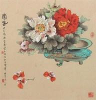 常春 镜心 - 131886 - 中国书画 - 第69期中国书画拍卖会 -收藏网