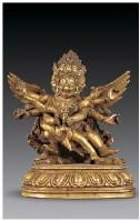 铜鎏金金刚橛像 -  - 佛像唐卡 - 2007春季艺术品拍卖会 -收藏网