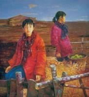 和风 布面  油画 - 高虹 - 中国油画与雕塑专场 - 2008年春季艺术品拍卖会 -收藏网
