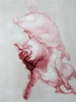 张炜 我们的幸福生活之二 布面 油画 -  - 中国当代油画 - 2006首届中国国际艺术品投资与收藏博览会暨专场拍卖会 -收藏网