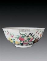 清 粉彩三多碗 -  - 瓷器玉器工艺品 - 2007秋季艺术品拍卖会 -收藏网