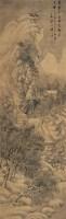 盛茂烨 崇祯壬申(1632年)作 寒山策蹇图 立轴 设色绢本 - 盛茂烨 - 角茶轩珍藏明清书画 - 2006秋季拍卖会 -收藏网