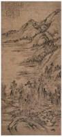 黄公望 山水 立轴 - 黄公望 - 中国书画 - 2007年金秋拍卖会 -收藏网