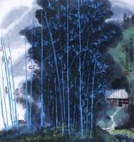 南国农家诗味多 立轴 设色纸本 - 6147 - 当代书画名家精品专场 - 2008春季拍卖会 -收藏网
