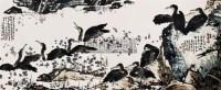 渔乐图 镜片 纸本 - 139807 - 中国书画 - 2011当代艺术品拍卖会 -中国收藏网