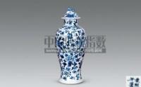 青花花鸟纹梅瓶 -  - 瓷玉珍玩 - 2008秋季艺术品拍卖会 -中国收藏网