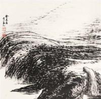 山水 立轴 纸本 - 21956 - 文物商店友情提供 - 庆二周年秋季拍卖会 -收藏网
